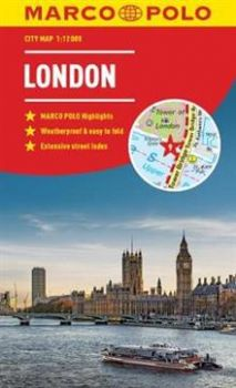 "LONDON. ""Marco Polo City Map"""