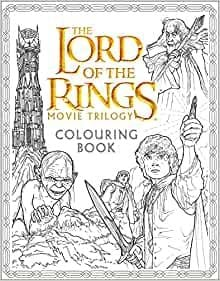 THE LORD OF THE RINGS MOVIE TRILOGY: Colouring Book
