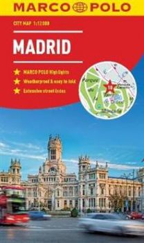 "MADRID. ""Marco Polo City Map"""