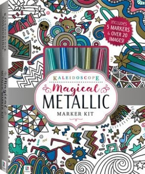 "MAGICAL METALLIC MARKER KIT. ""Kaleidoscope"""