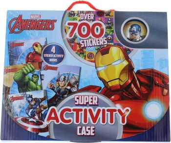 MARVEL AVENGERS SUPER ACTIVITY CASE: Over 700 Stickers