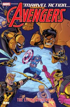 MARVEL ACTION: Avengers: The Living Nightmare : Book 4