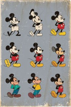 MICKEY MOUSE (EVOLUTION) MAXI POSTER
