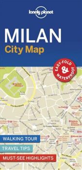 "MILAN. ""Lonely Planet City Map"""