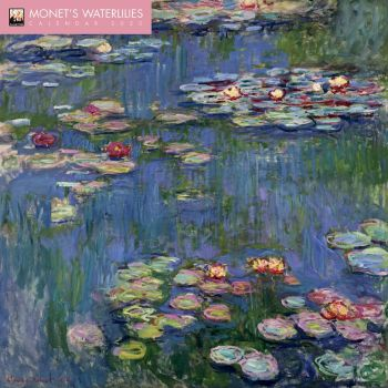 MONET`S WATERLILIES 2020. /стенен календар/