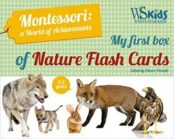 "MY FIRST FLASH CARDS BOX: Discovering Forest Animals ""Montessori World of Achievements"""