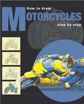 "MOTORCYCLES. ""How to Draw Step by Step"""