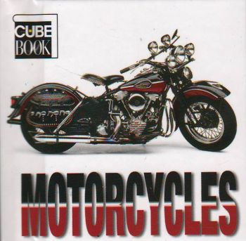 MOTORCYCLES: Mini Cube Book
