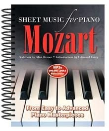 MOZART: Sheet Music for Piano