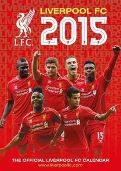 OFFICIAL LIVERPOOL FC 2015 CALENDAR. /стенен кал