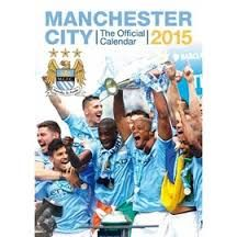 OFFICIAL MANCHESTER CITY FC CALENDAR 2015. /стенен календар/