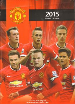 OFFICIAL MANCHESTER UNITED FC 2015 CALENDAR. /ст