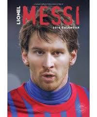 OFFICIAL MESSI CALENDAR 2015. /стенен календар/