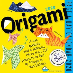 ORIGAMI PAGE-A-DAY CALENDAR 2020