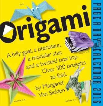 ORIGAMI PAGE-A-DAY CALENDAR 2021
