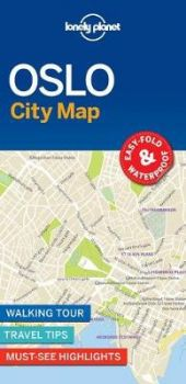 "OSLO. ""Lonely Planet City Map"""
