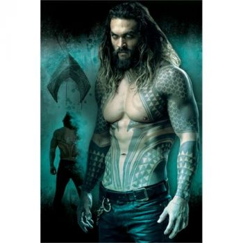 DC COMICS JUSTICE LEAGUE AQUAMAN MAXI POSTER