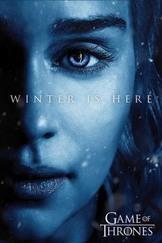 GAME OF THRONES (WINTER IS HERE) - DAENERYS POSTER
