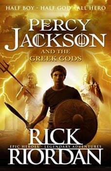 PERCY JACKSON AND THE GREEK GODS