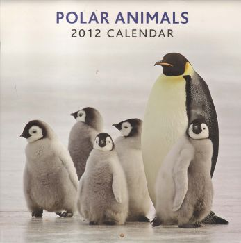 POLAR ANIMALS 2012. /стенен календар/