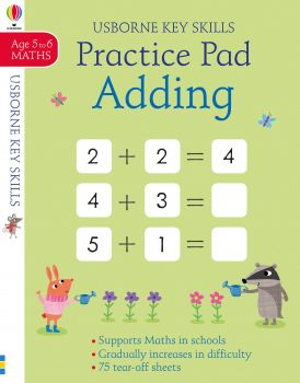 PRACTICE PAD ADDING: Age 5 to 6