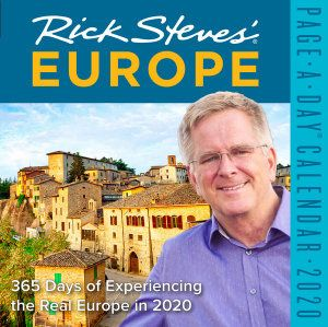 RICK STEVES` EUROPE PAGE-A-DAY CALENDAR 2020