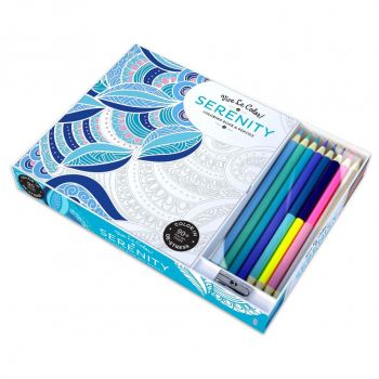 """SERENITY: Coloring Book and Pencils. """"Vive le Color!"""""""