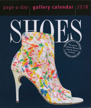 SHOES PAGE-A-DAY GALLERY CALENDAR 2018