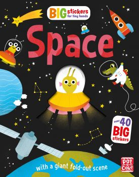 """SPACE. """"Big Stickers for Tiny Hands"""""""