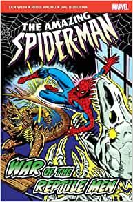 THE AMAZING SPIDER-MAN: War of the Reptile Men