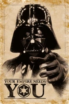 STAR WARS (YOUR EMPIRE NEEDS YOU) MAXI POSTER