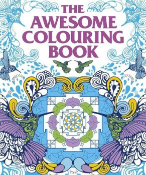 THE AWESOME COLOURING BOOK