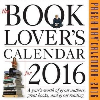 THE BOOK LOVER`S PAGE-A-DAY CALENDAR 2016