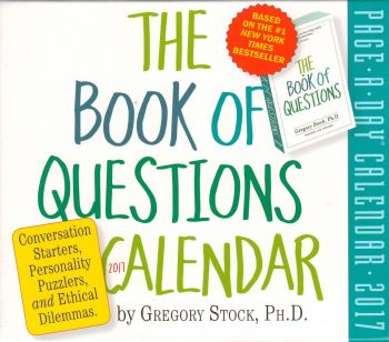 THE BOOK OF QUESTIONS PAGE-A-DAY CALENDAR 2017