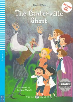"THE CANTERVILLE GHOST. ""Young Eli Readers"", A1.1 - Stage 3 + CD"