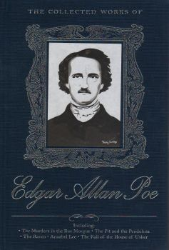 """THE COLLECTED WORKS OF EDGAR ALLAN POE. """"W-th Library Collection"""""""