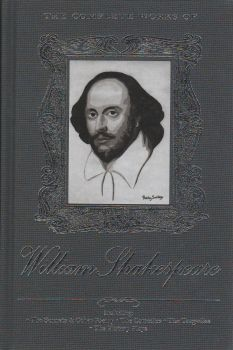 """THE COMPLETE WORKS OF WILLIAM SHAKESPEARE. """"W-th Library Collection"""""""