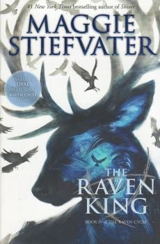"""THE RAVEN KING. """"The Raven Cycle"""", Book 4"""