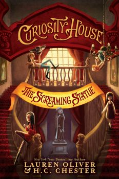 """THE SCREAMING STATUE. """"Curiosity House"""", Book 2"""