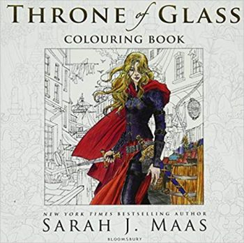 THE THRONE OF GLASS: Colouring Book