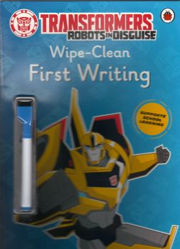 TRANSFORMERS: ROBOTS IN DISGUISE: Wipe-Clean First Writing