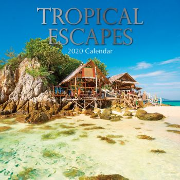 TROPICAL ESCAPES 2020. /стенен календар/