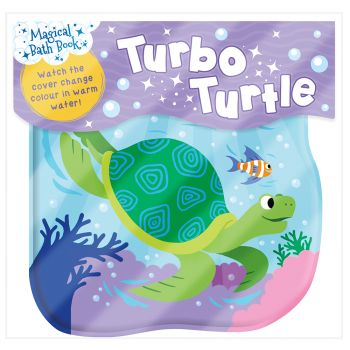 "TURBO TURTLE. ""Magical Bath Book"""