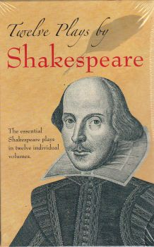 """TWELVE PLAYS OF SHAKESPEARE. """"Dover Thrift Editions"""""""
