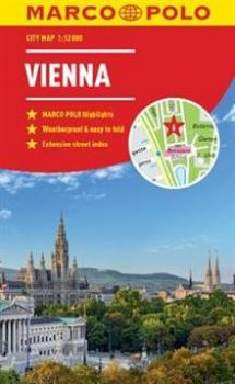 "VIENNA. ""Marco Polo City Map"""