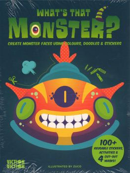 WHAT`S THAT MONSTER?: Re-Imagine Faces by Mixing Doodles & Stickers