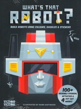 WHAT`S THAT ROBOT?: Re-Imagine Faces by Mixing Doodles & Stickers