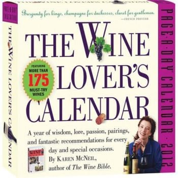 THE WINE LOVER`S 2012. (Calendar/Page A Day)