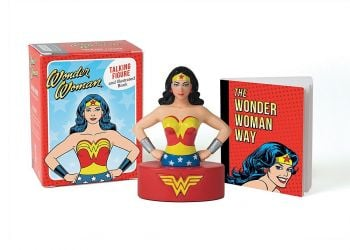 WONDER WOMAN: Talking Figure and Illustrated Book