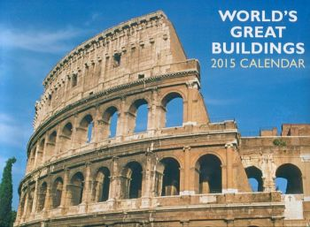 WORLD`S GREAT BUILDINGS 2015. /стенен календар/